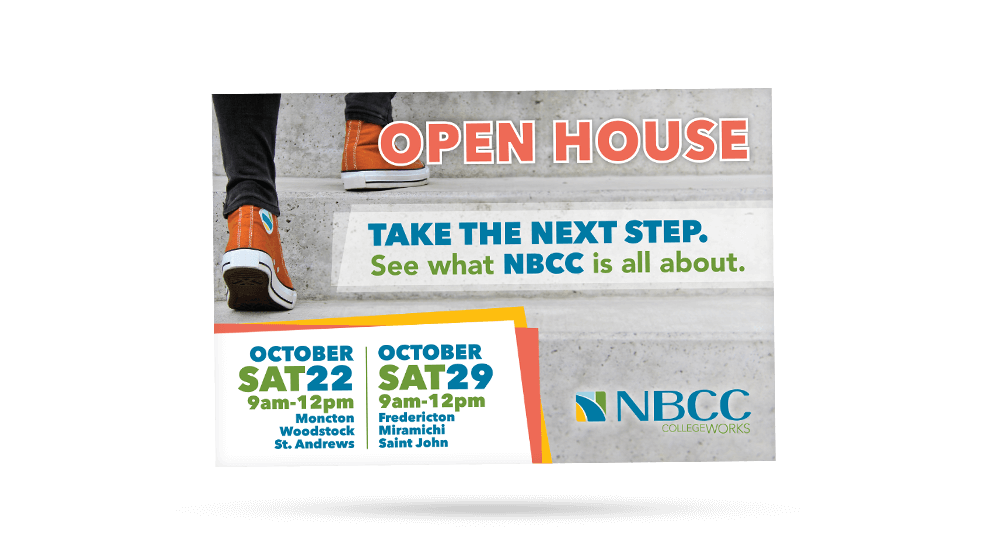 NBCC - Open House Postcard