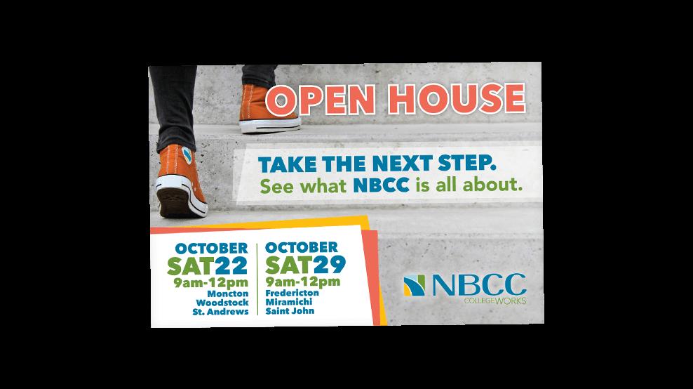 NBCC - Open House Postcard