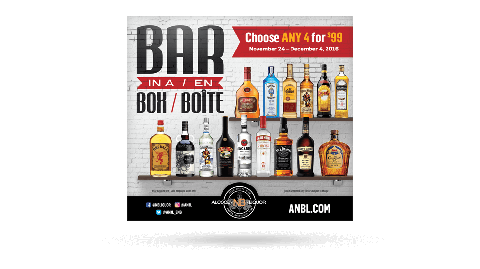 ANBL - Bar In A Box Newspaper Ad