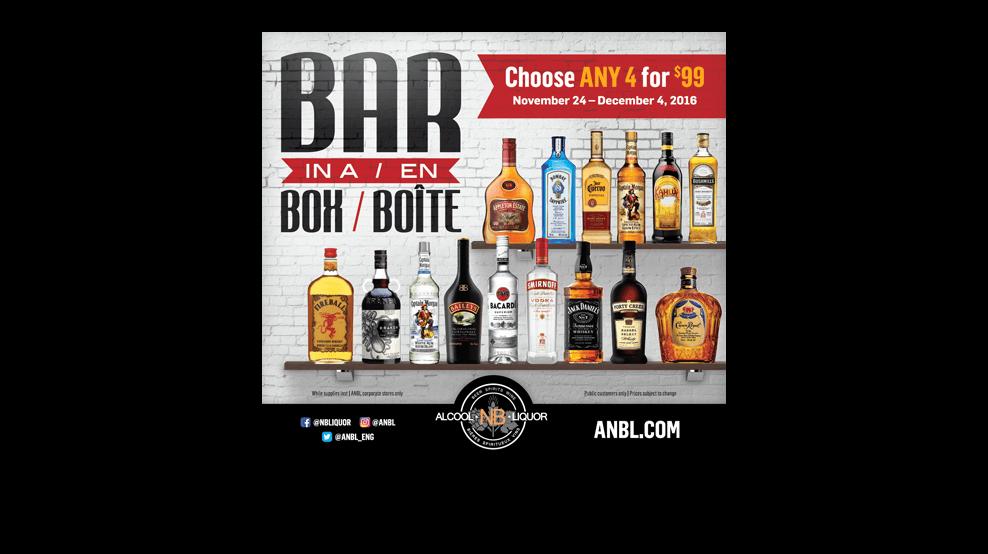 ANBL - Bar In A Box Newspaper Ad
