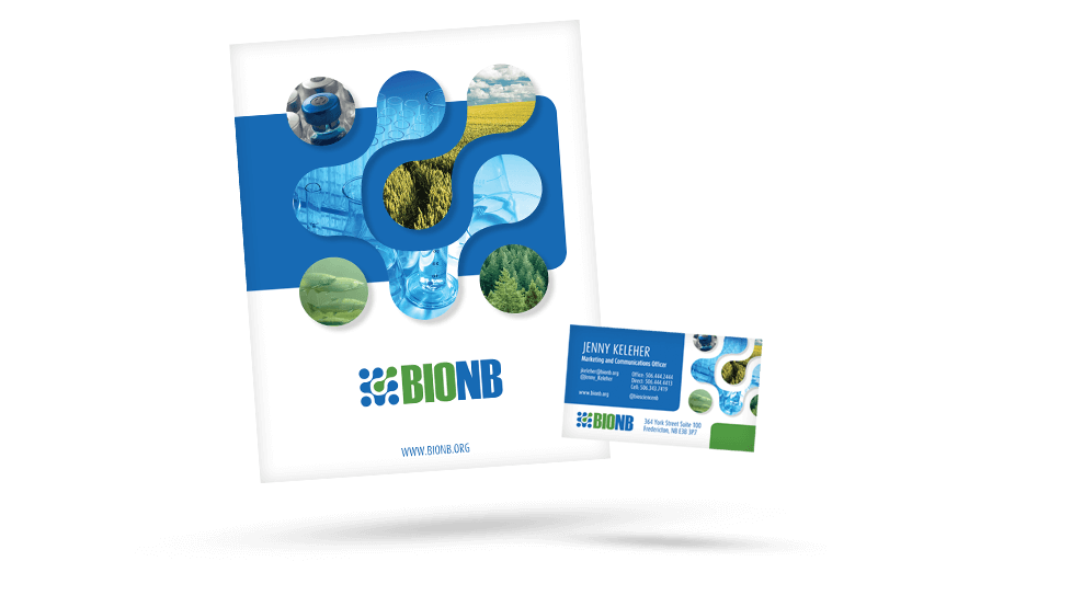 BioNB - Business Card & Kit Folder