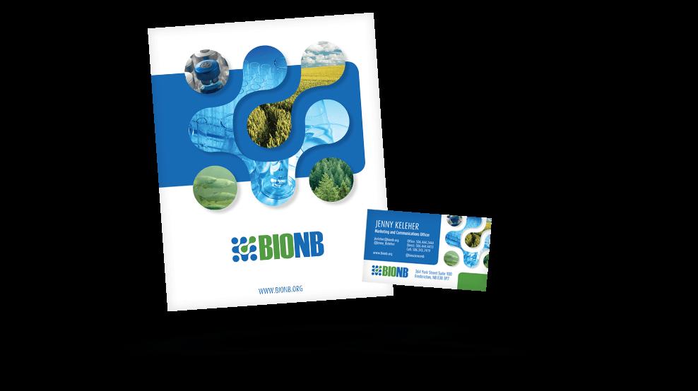 BioNB - Business Card & Kit Folder