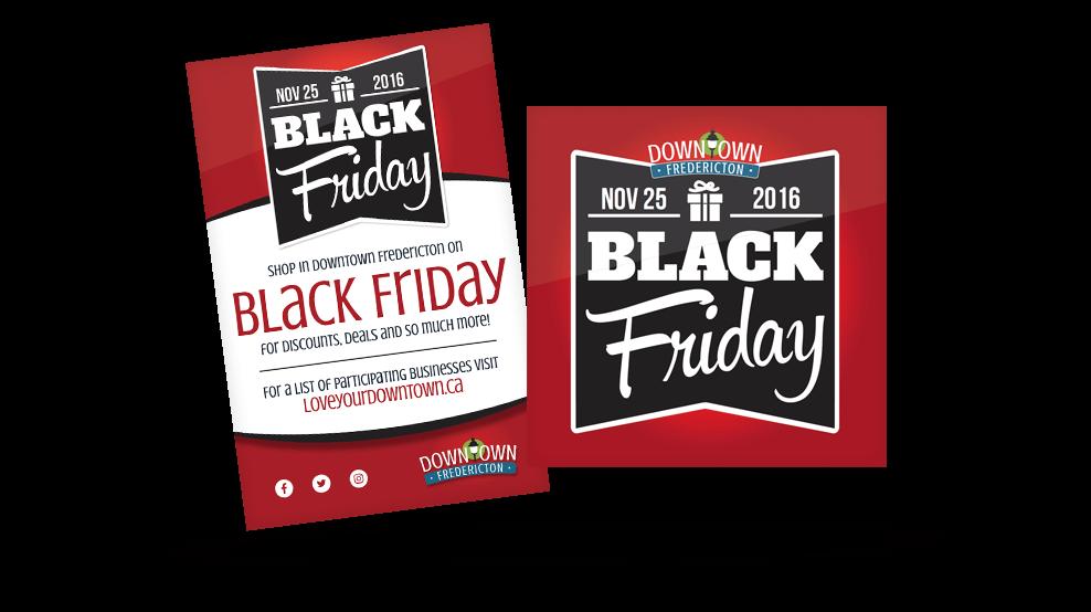 Downtown Fredericton - Black Friday