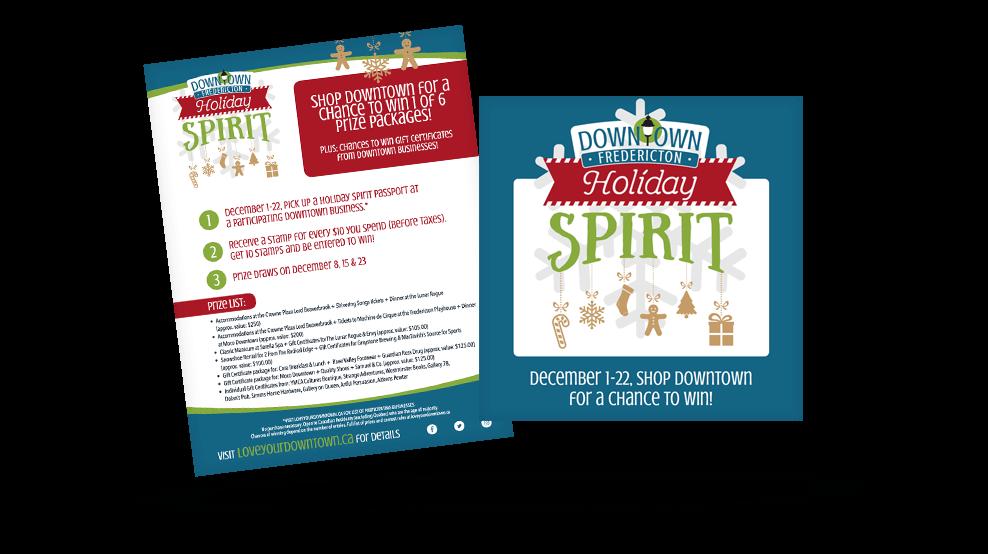 Downtown Fredericton - Holiday Spirit Promo