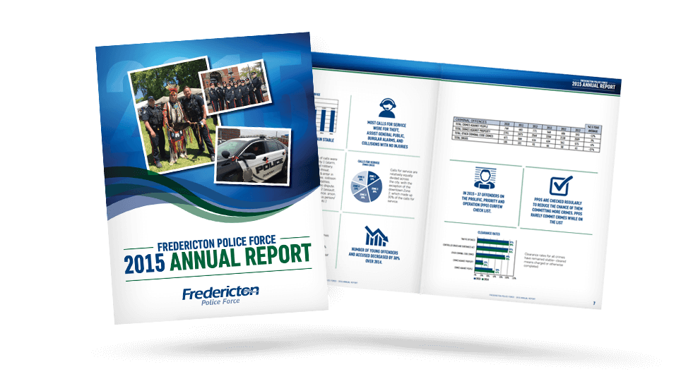 City Of Fredericton Police - Annual Report