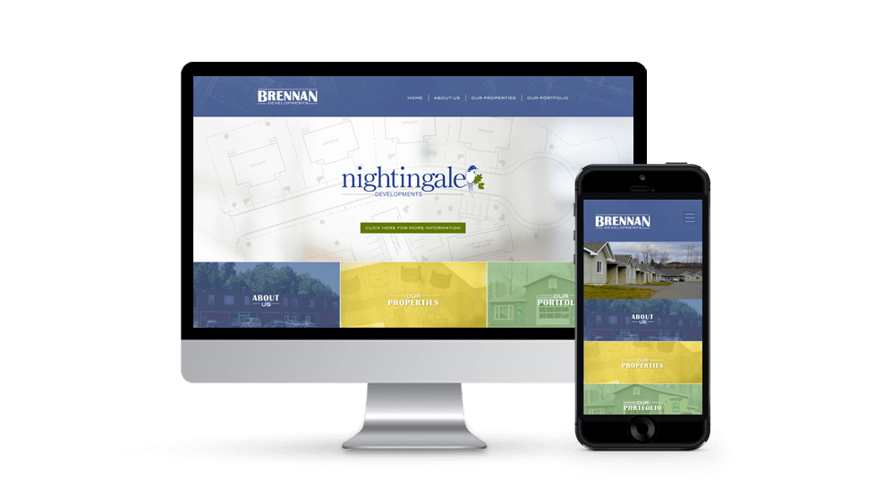 Brennan Developments - Website