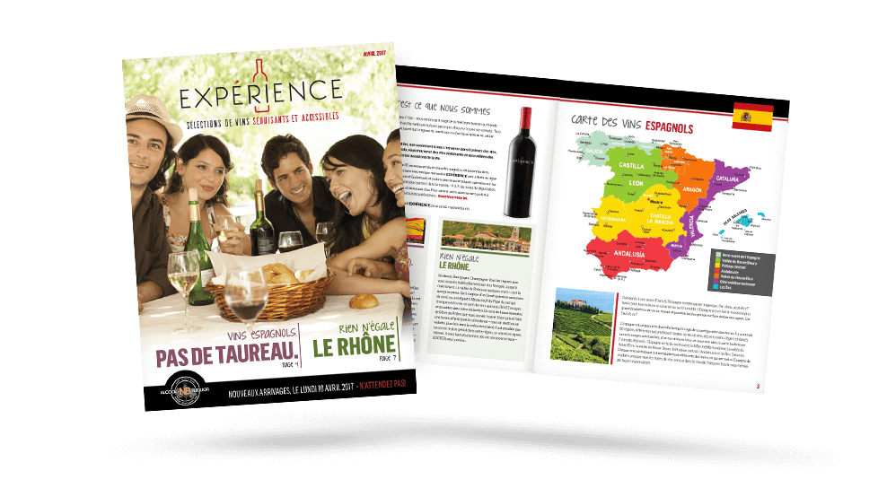 ANBL - Experience Wine E-flyer