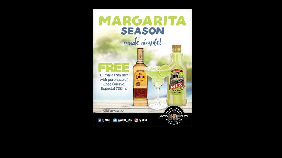 Jose Cuervo Margaritas Ad