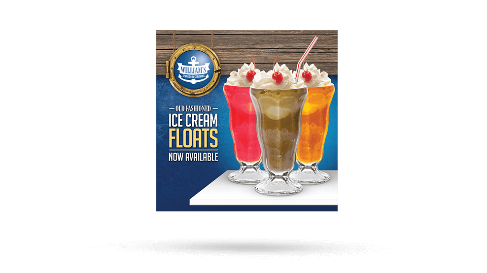 Williams Ice Cream Floats