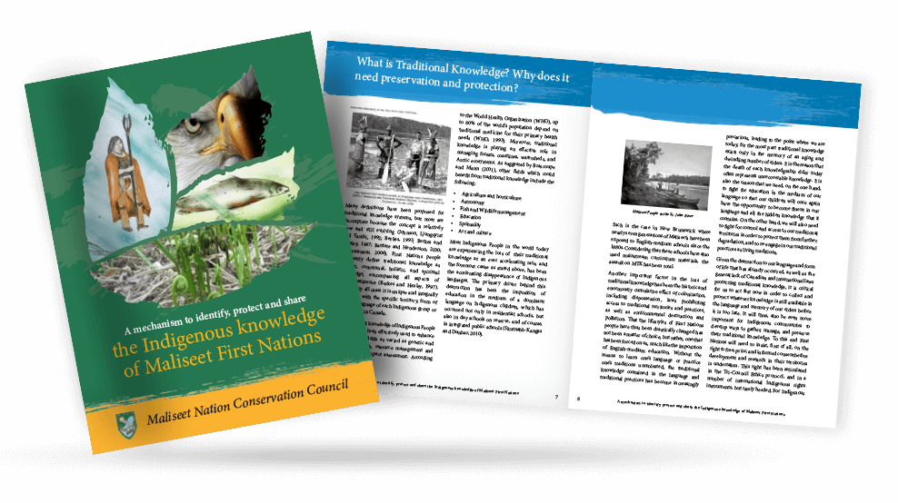 Knowledge of First Nations and Maliseet Booklet