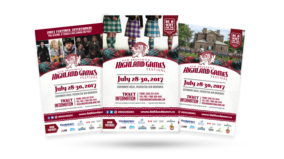 Highland games 2017 Posters