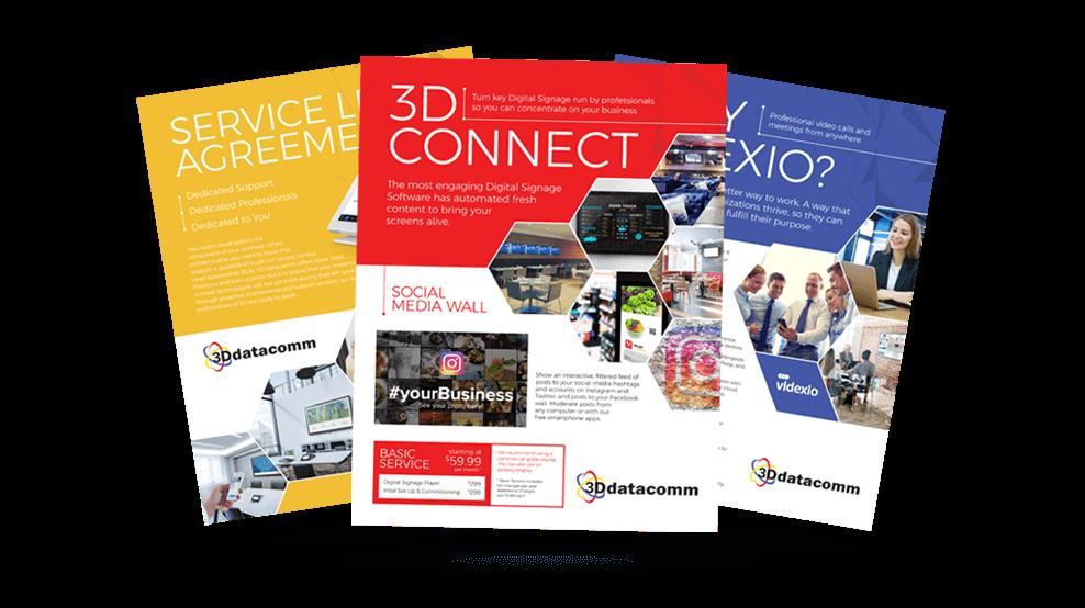 3D Datacomm - Brochures