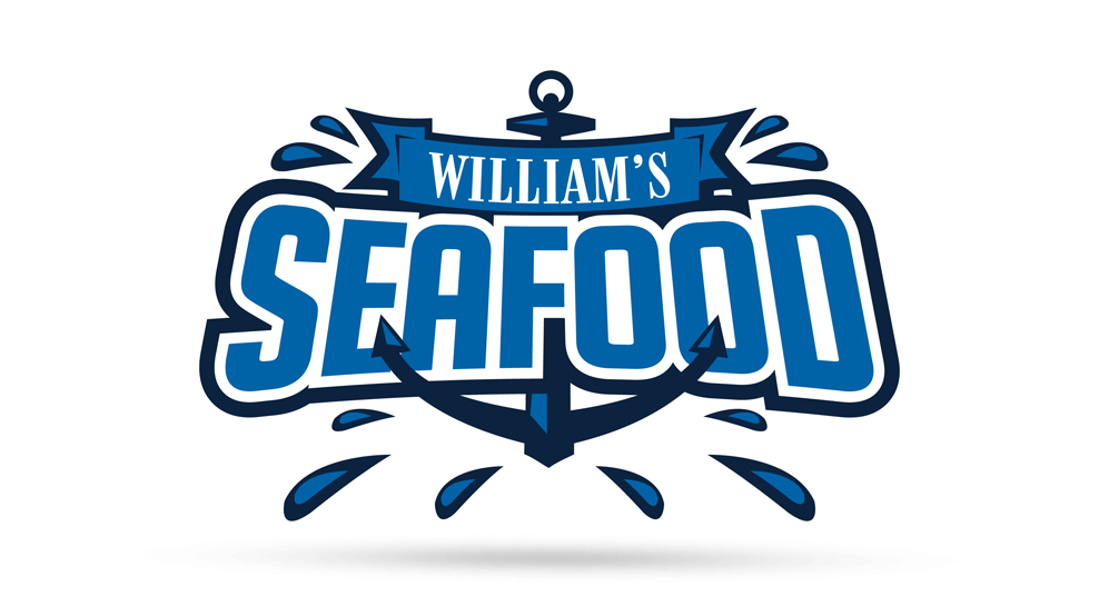 William's Seafood - Hockey Logo