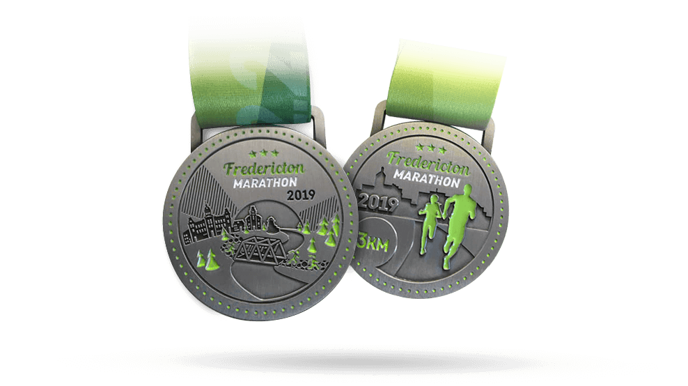 FrederictonMararthonMedals2019