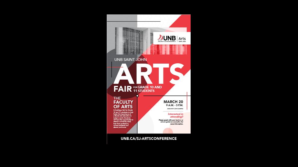 UNB-ArtsFairPoster